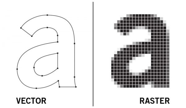 벡터 이미지와 픽셀 이미지 비교: 왜 당신의 패키지 디자인은 벡터  파일로 만들어져야 할까요?