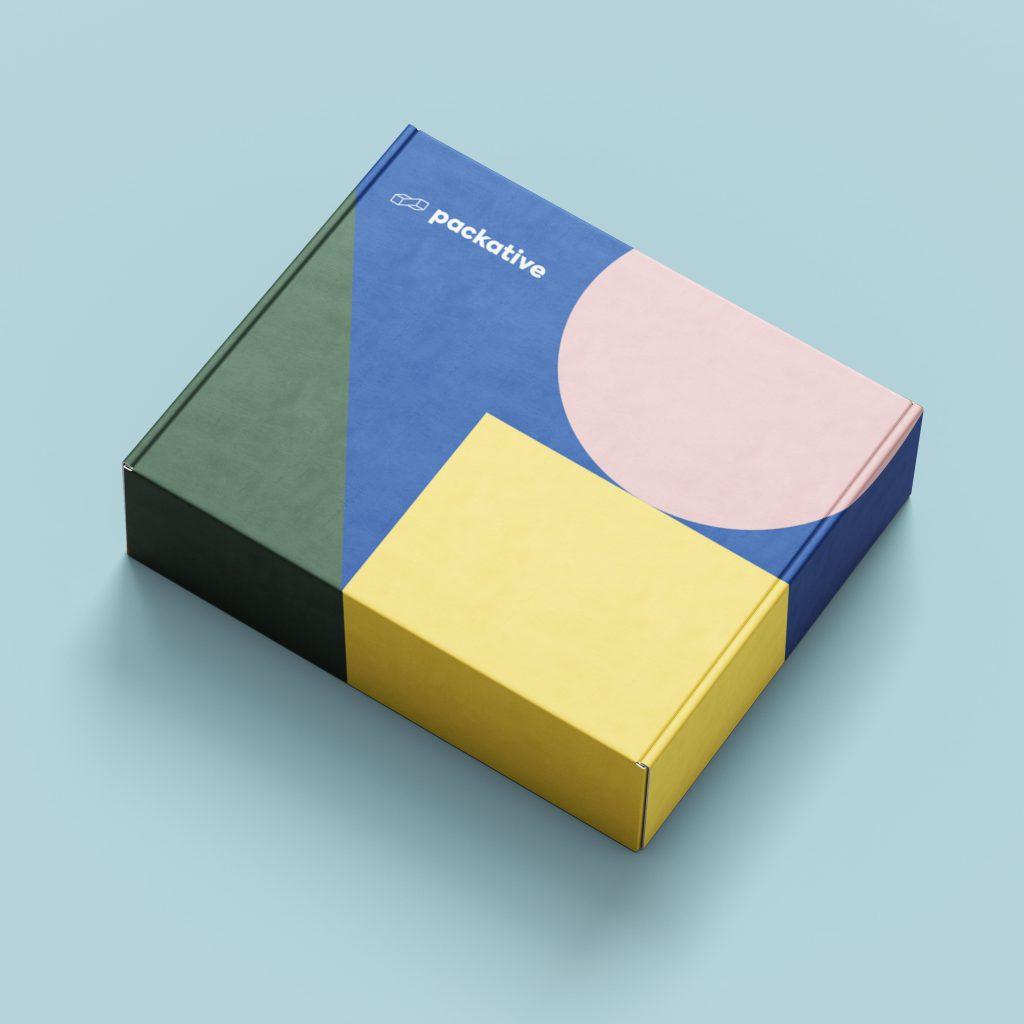 패커티브 포장 박스-G형 구조를 통해 내구성이 탄탄해 택배 배송에 적합한 상자