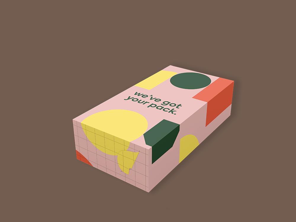 디저트 포장 상자