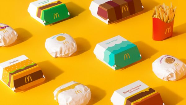 맥도날드와 버거킹의 2021 패키지 리디자인 : 브랜드 아이덴티티를 나타내는 디자인!