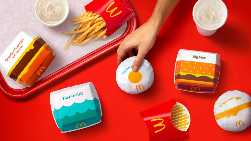 맥도날드 박스
